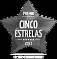 Prémio Cinco Estrelas 2021 - 3º ano consecutivo